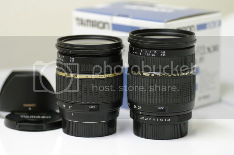 Tamron SP 17-50mm f/2.8 Di II