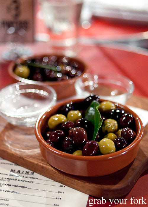 Olives at The Carrington Surry Hills