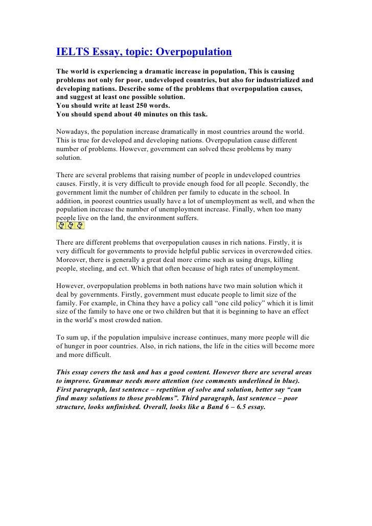 thesis statement ielts