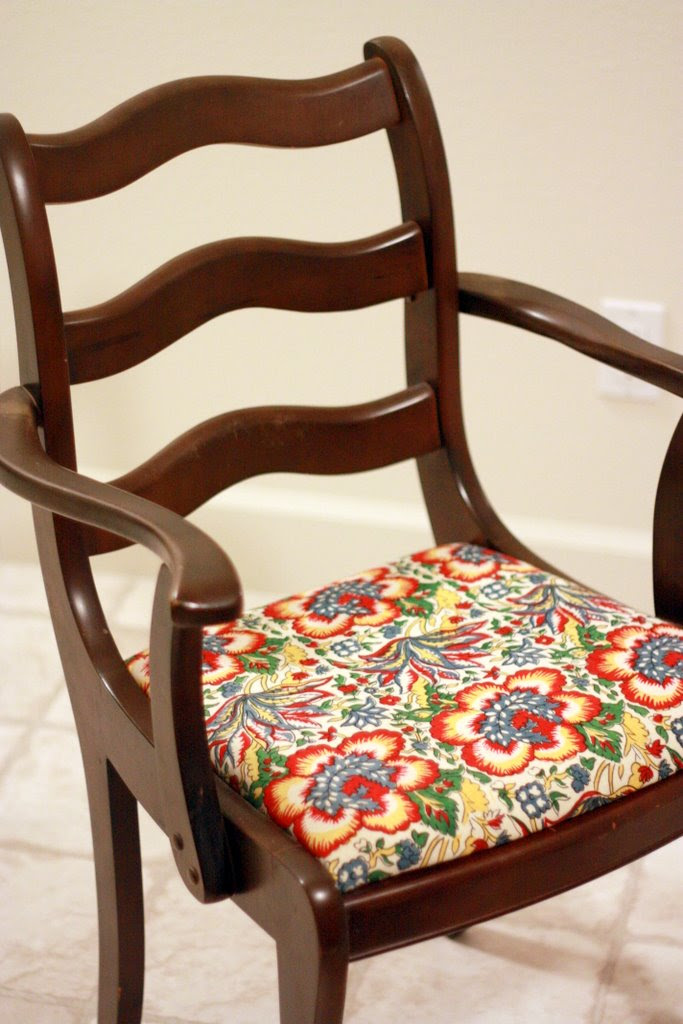 Dining room chairs Redo-in-Progress ~ Like Mother Like ...