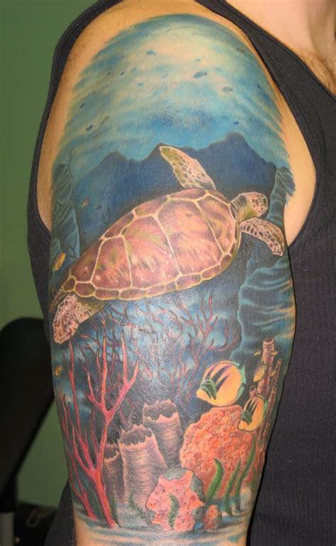 sea creature tattoo designs  ideas