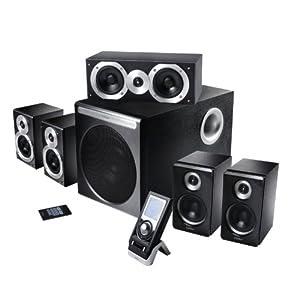 edifier s550 5 1 soundsystem rev 2 inkl fernbedienung schwarz. Black Bedroom Furniture Sets. Home Design Ideas