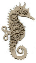 Steampunk Seahorse - Click Image to Close