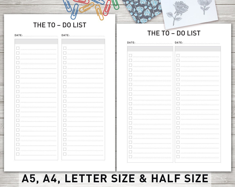 to do list notebook – Etsy