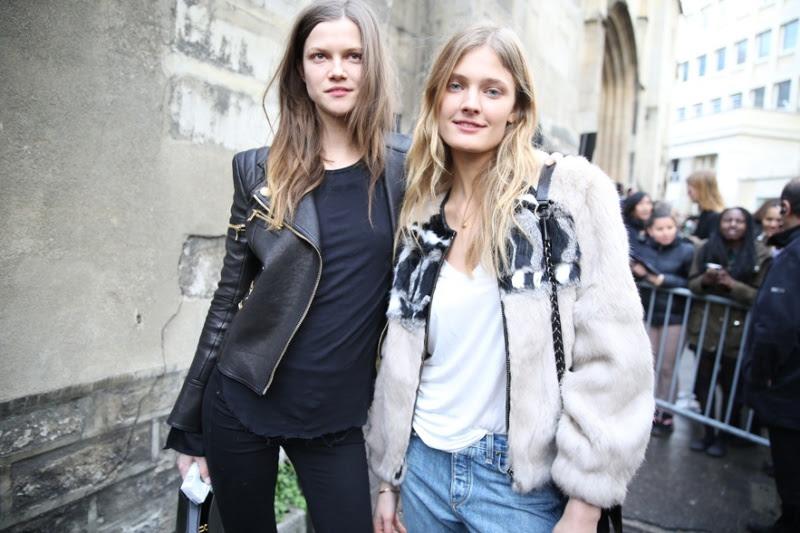 Kasia Struss and Constance Jablonski