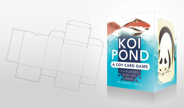 Daniel solis koi pond tuck box free print and fold download for Koi pond labradors