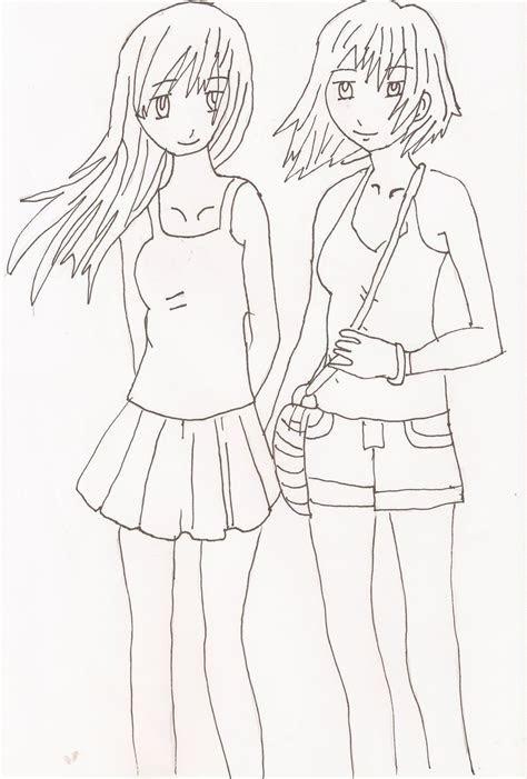 easy  friend drawings www daf pinterest