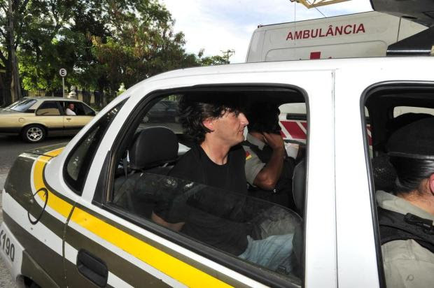 Suspeito de planejar morte de empresário, filho e amigo é preso em Santa Maria Ronald Mendes/Agencia RBS