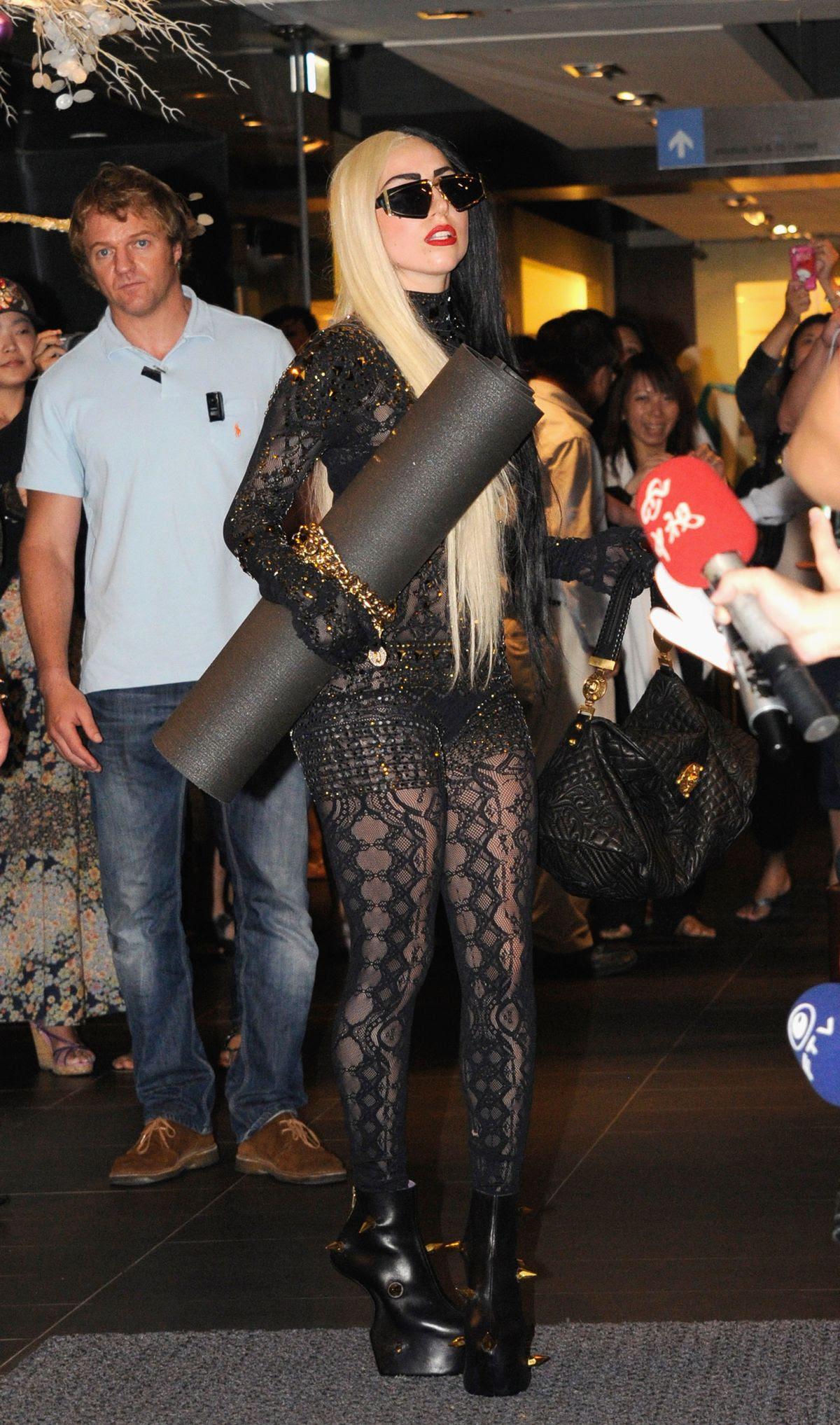 Lady Gaga Visits Taiwan