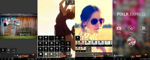 Android] Pixlr Express – photo editing แอพแก้ไขดัดแปลงภาพ ง่ายๆ แต่