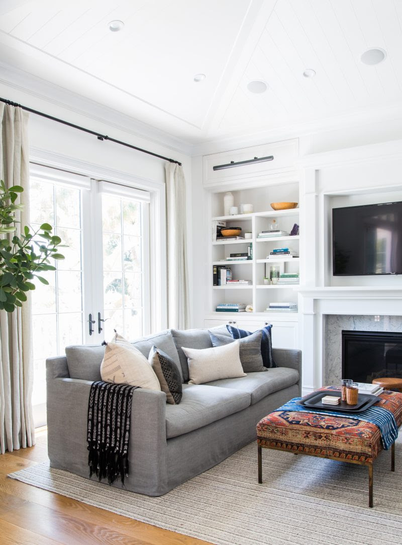 Neutral Throw Pillow Combinations for White and Gray Sofas ...