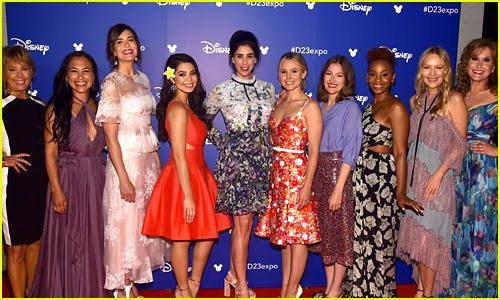 10 of Disney's Princess Actresses Meet Up for Epic D23 Photo!
