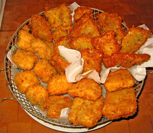 filetti di salmone, platessa e trota fritti alla giapponese by fugzu