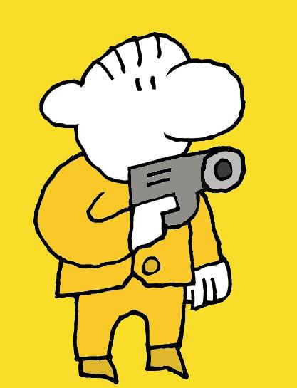 Uncle Bob With Gun