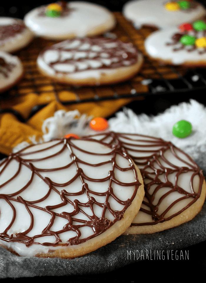 Halloween Sugar Cookies   My Darling Vegan