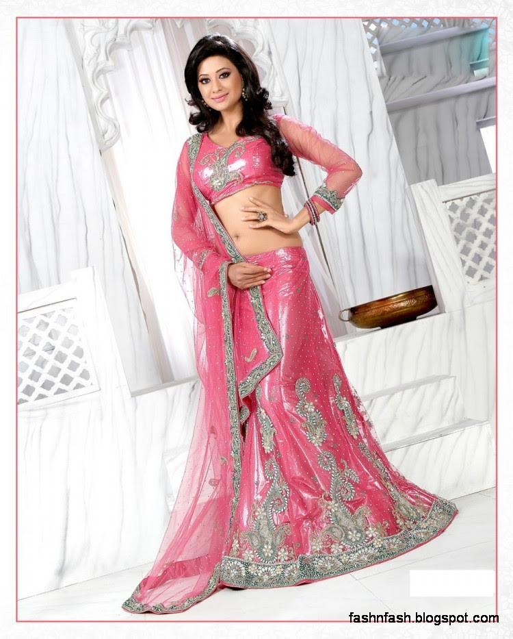Bridal-Brides-Wedding-Dress-Beautiful-Indian-Bridal-Valima-Lehanga-Choli-Collection-5