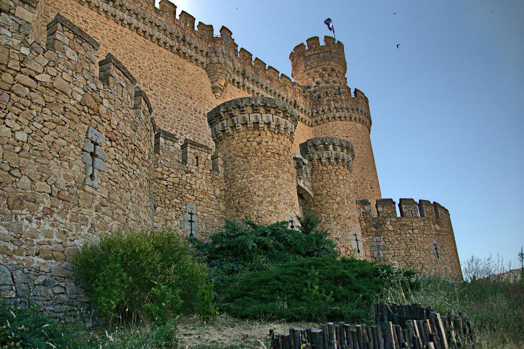 el castillo de los Mendoza, el mejor conservado