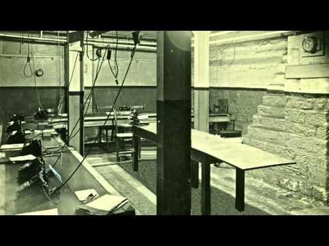 Control centre WW2 - Rochdale Town Hall Cellars