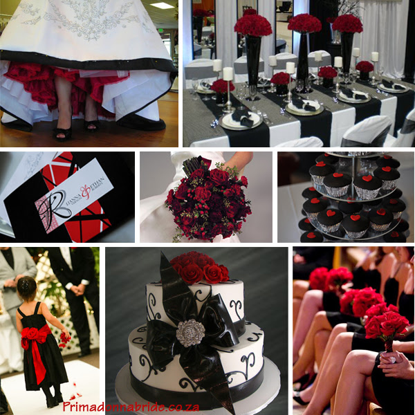 Sterrlings Blog Dramatic Red And Black Wedding Ideas Credits