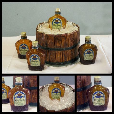 Crown Royal grooms cake. Hahaha this is perfect!!   A Girl