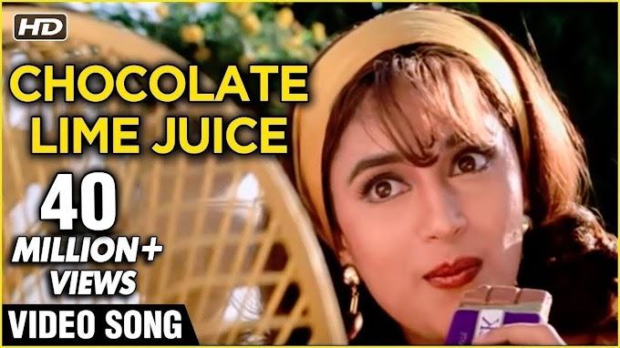 Chocolate Lime Juice - Hum Aapke Hain Koun - Best Of Lata Mangeshkar Hit Songs - Lata Mangeshkar Lyrics in hindi