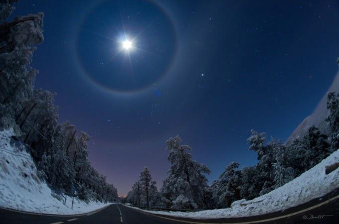 O que são os Halos lunares?
