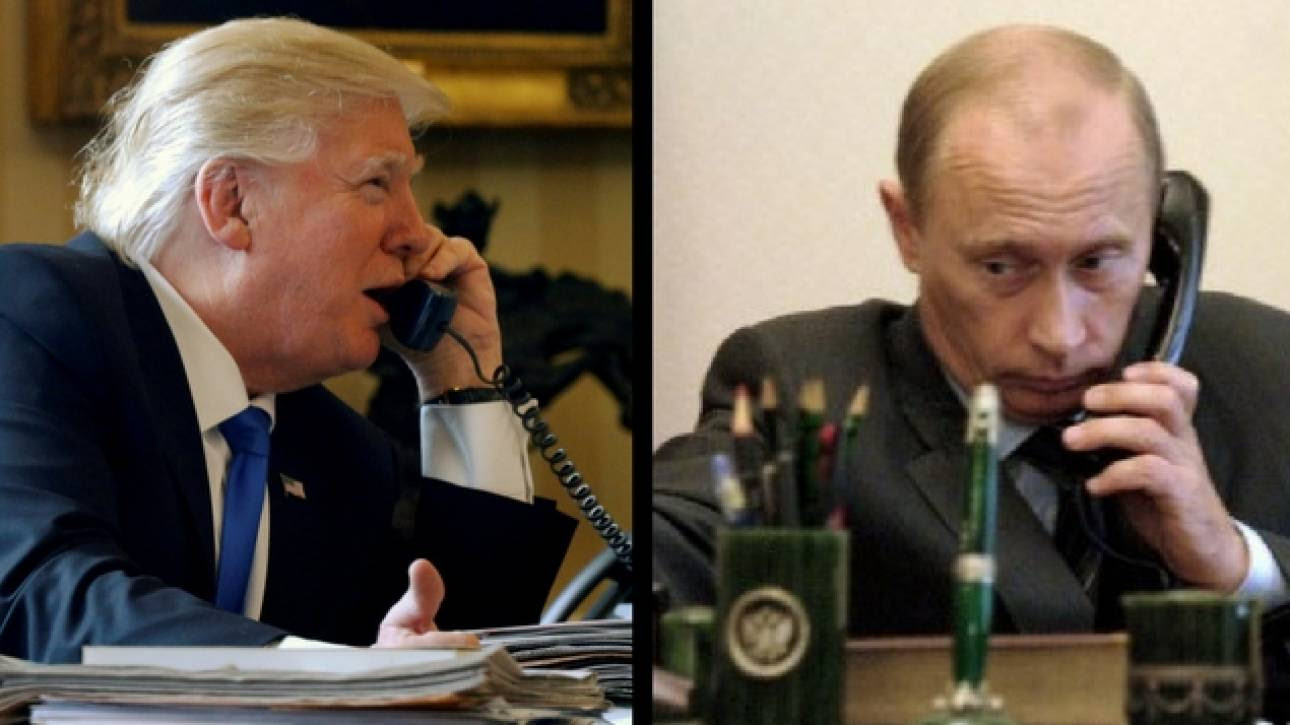 ΗΠΑ-Ρωσία: Η διαφορά στις ανακοινώσεις για τη συνομιλία Τραμπ-Πούτιν