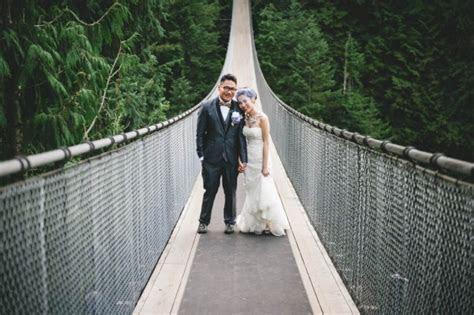 Simply Elegant Wedding at Capilano Suspension Bridge Park