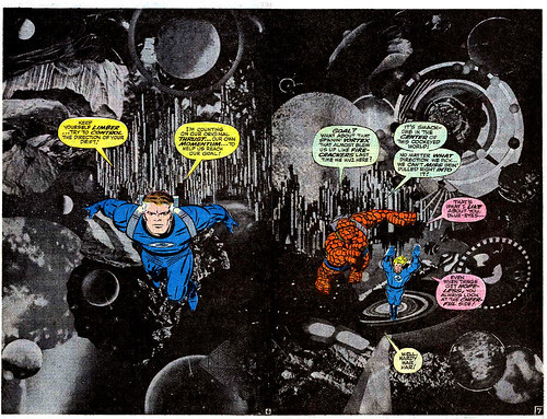 Jack Kirby photomontage from Fantastic Four Annual #6 (1968)