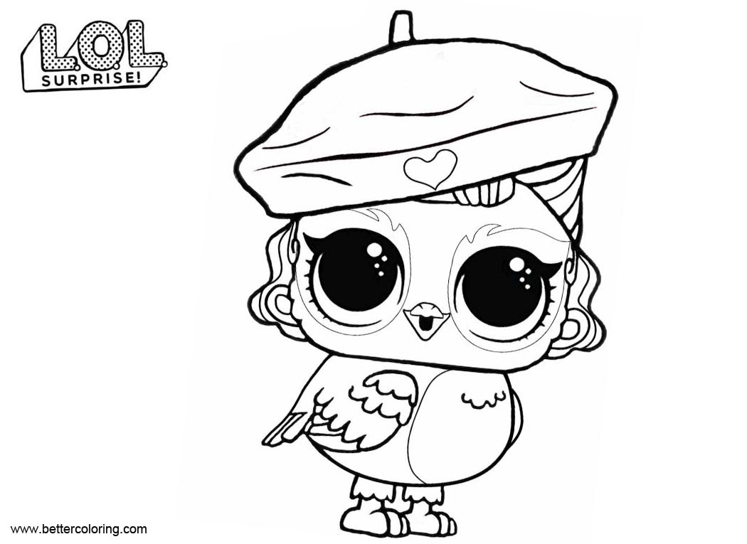 Free Lol Pets Coloring Pages