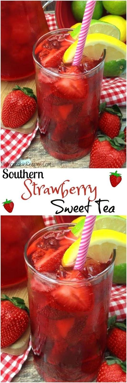 Southern Strawberry Sweet Tea Recipe