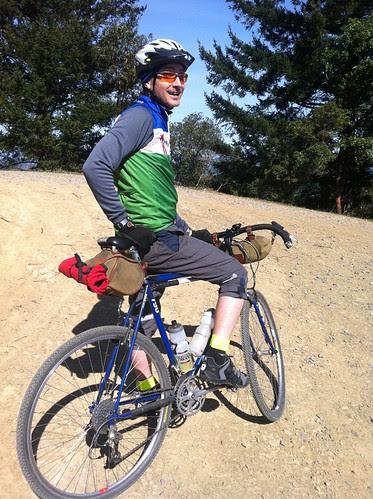 JimG Astride the Trek MonsterTrail Machine by cyclofiend
