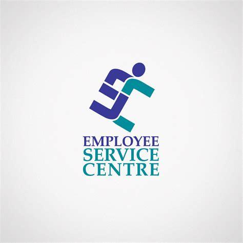 employee service centre logo design troy templeman design