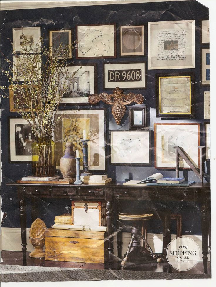 Photo Wall Collage Pottery Barn Traffic Club