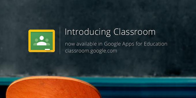 Mainan Baru : Google Classroom