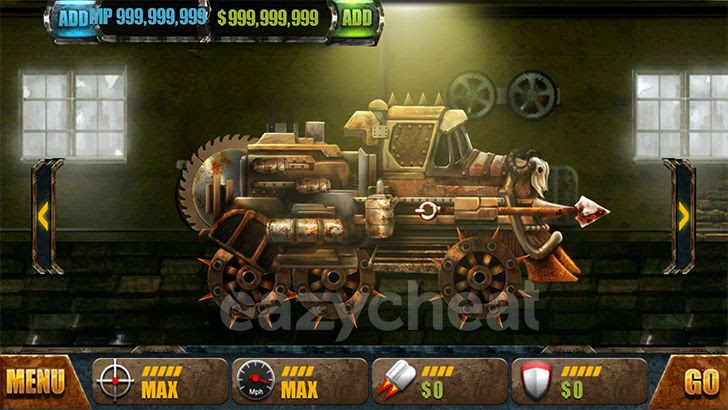 Road Warrior: Best Racing Game v1.4.8 Cheats