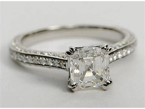 8 best images about Asscher Cut Engagement Rings on