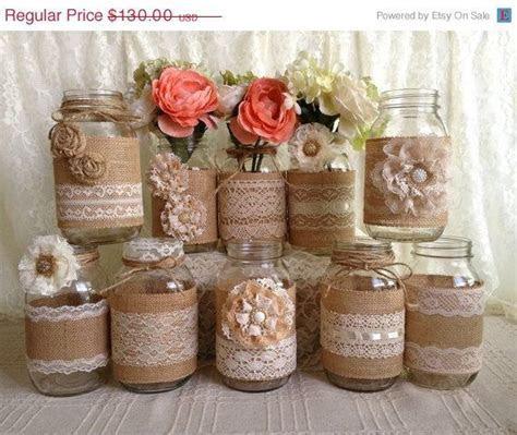 Best 20  Rustic mason jars ideas on Pinterest   Mason jar