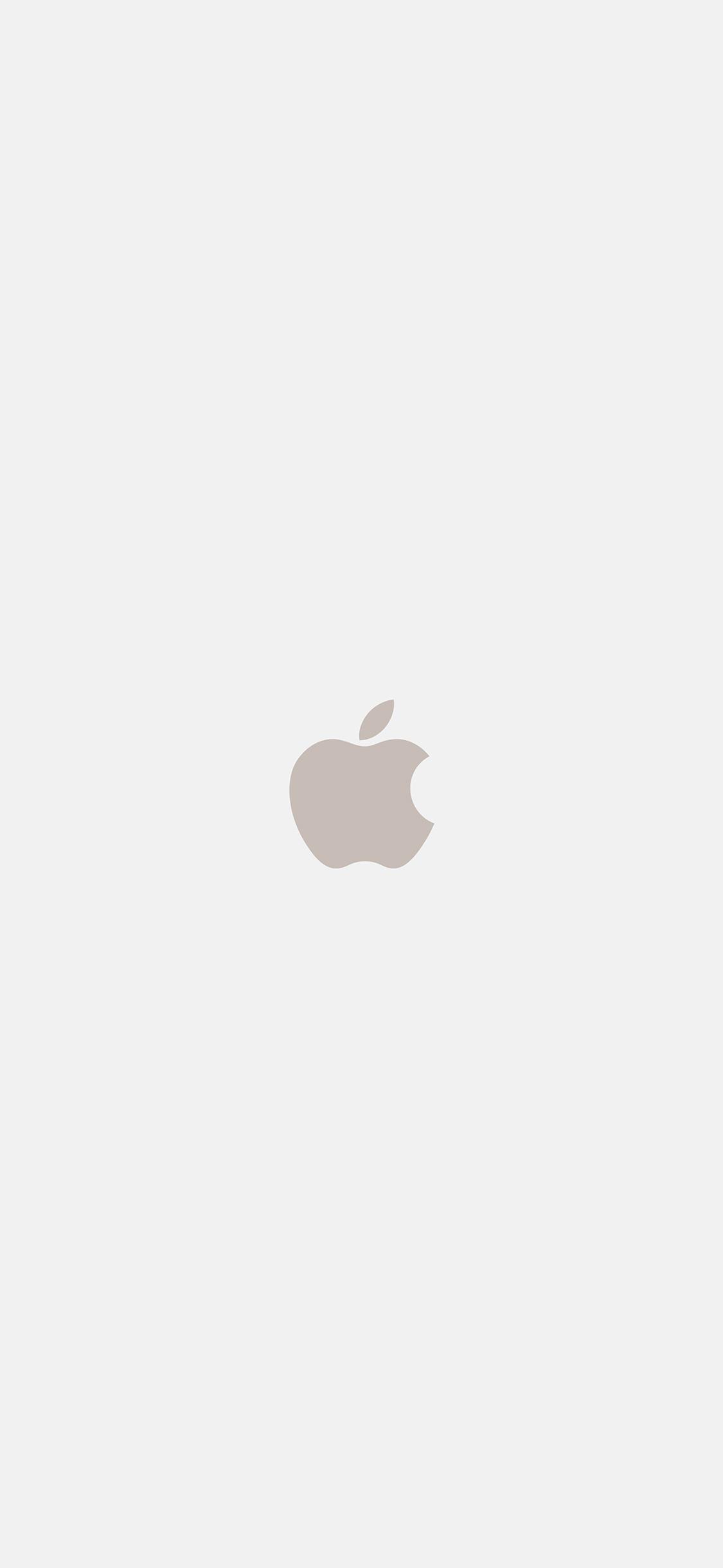 As69 Iphone7 Apple Logo White Gold Art Illustration Wallpaper