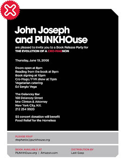 John Joseph Schedules Book Release Party at The Delancey