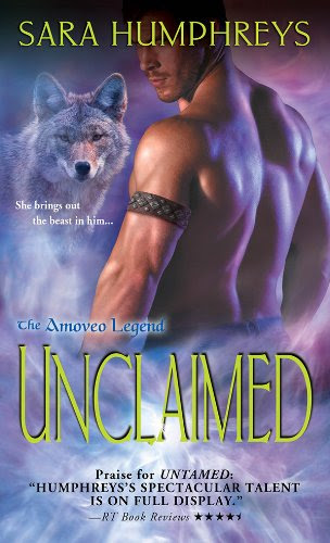 Unclaimed (The Amoveo Legend) by Sara Humphreys