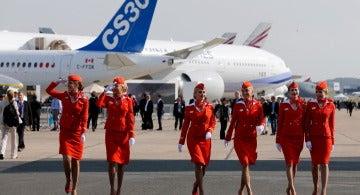Azafatas de Aeroflot