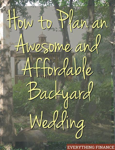 1000  ideas about Surprise Wedding on Pinterest   Backyard