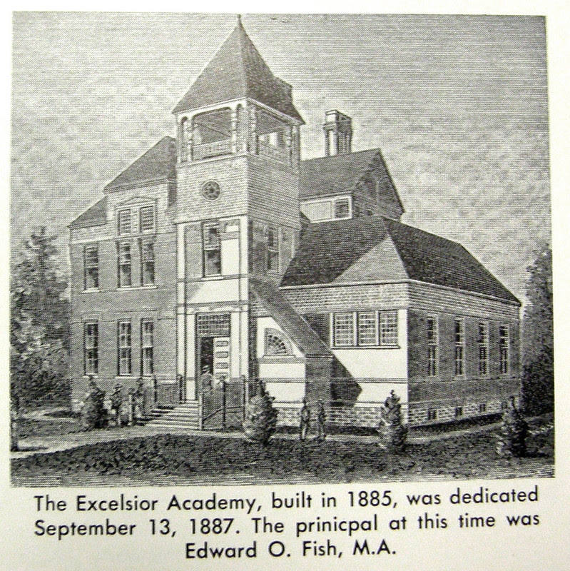 Excelsior school days 1887