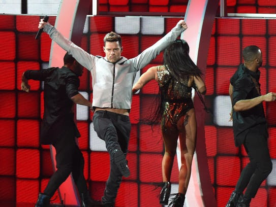 Ricky Martin performs during the 16th Annual Latin