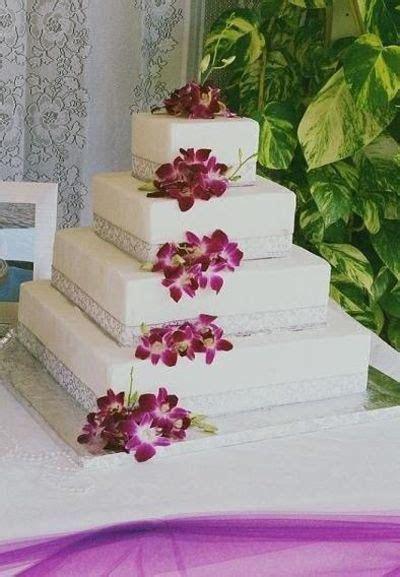 Burgundy/silver cake / wedding cakes   Juxtapost