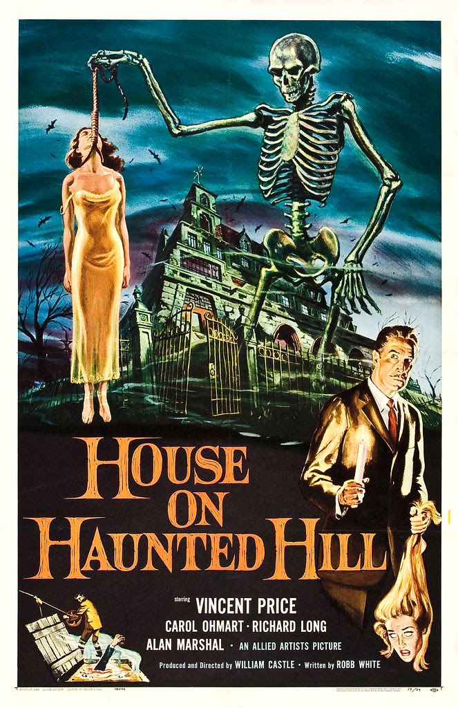 Reynold Brown - House on Haunted Hill (Allied Artists, 1959)