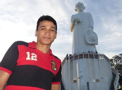 Ronaldo Angelim aposentado em Juazeiro-CE (Foto: Cahê Mota)