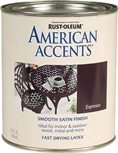 Rust-Oleum 215152T American Accents, Satin Espresso, 1-Quart - Amazon.