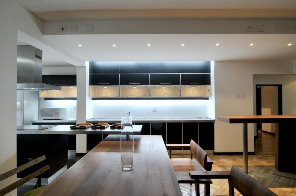 Remodelaci n dpto gonzalez loi arquitectos blogydeco for Remodelacion de casas interiores